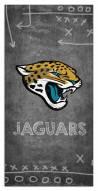 "Jacksonville Jaguars 6"""" x 12"""" Chalk Playbook Sign"