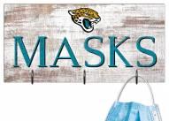 """Jacksonville Jaguars 6"""""""" x 12"""""""" Mask Holder"""