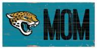 """Jacksonville Jaguars 6"""""""" x 12"""""""" Mom Sign"""