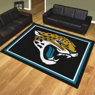 Jacksonville Jaguars 8' x 10' Area Rug