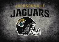 Jacksonville Jaguars 8' x 11' NFL Distressed Area Rug