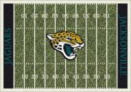 Jacksonville Jaguars 8' x 11' NFL Home Field Area Rug