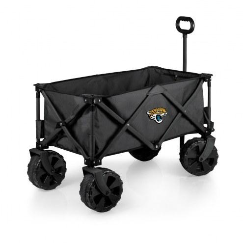 Jacksonville Jaguars Adventure Wagon with All-Terrain Wheels