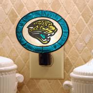 Jacksonville Jaguars Art Glass Night Light