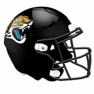 Jacksonville Jaguars Authentic Helmet Cutout Sign