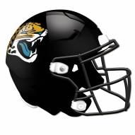 Jacksonville Jaguars Authentic Helmet Cutout Sign
