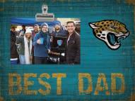 Jacksonville Jaguars Best Dad Clip Frame