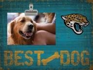 Jacksonville Jaguars Best Dog Clip Frame