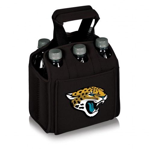 Jacksonville Jaguars Black Six Pack Cooler Tote