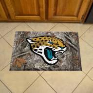 Jacksonville Jaguars Camo Scraper Door Mat