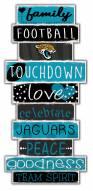 Jacksonville Jaguars Celebrations Stack Sign