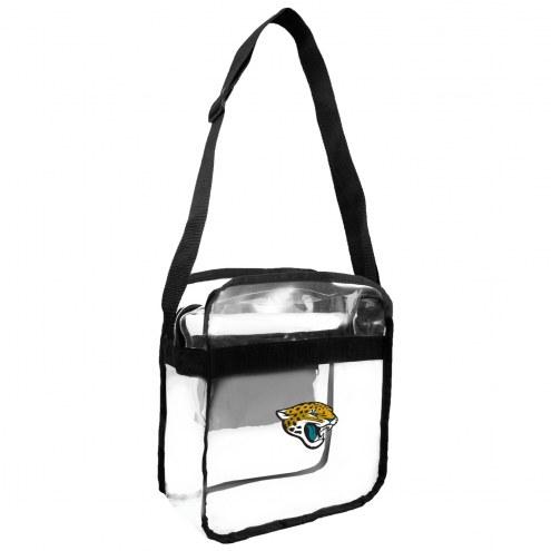 Jacksonville Jaguars Clear Crossbody Carry-All Bag