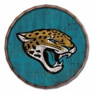 """Jacksonville Jaguars Cracked Color 24"""""""" Barrel Top"""