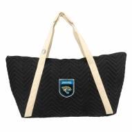 Jacksonville Jaguars Crest Chevron Weekender Bag
