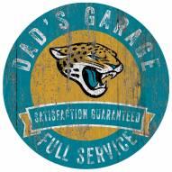 Jacksonville Jaguars Dad's Garage Sign