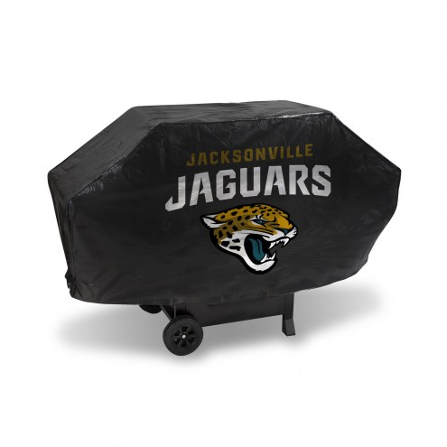 Jacksonville Jaguars Deluxe Padded Grill Cover