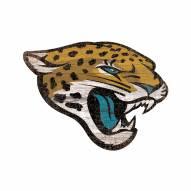 Jacksonville Jaguars Distressed Logo Cutout Sign