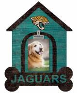 Jacksonville Jaguars Dog Bone House Clip Frame