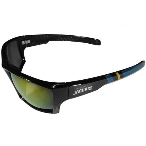 Jacksonville Jaguars Edge Wrap Sunglasses