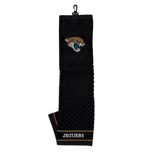 Jacksonville Jaguars Embroidered Golf Towel
