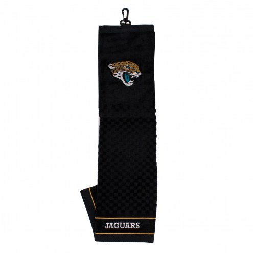 Jacksonville Jaguars Embroidered Golf Towel