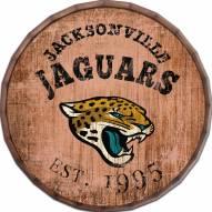 """Jacksonville Jaguars Established Date 24"""""""" Barrel Top"""