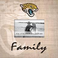 Jacksonville Jaguars Family Picture Frame