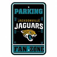 Jacksonville Jaguars Fan Zone Parking Sign