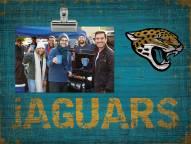 Jacksonville Jaguars Wood Clip Frame