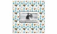 """Jacksonville Jaguars Floral Pattern 10"""""""" x 10"""""""" Picture Frame"""