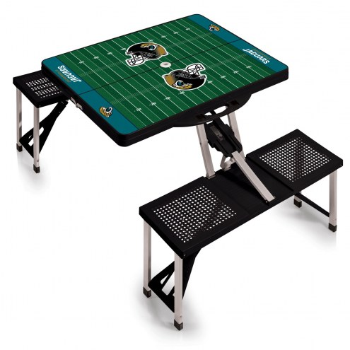 Jacksonville Jaguars Folding Picnic Table