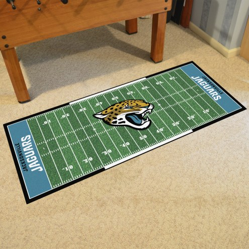 Jacksonville Jaguars Football Field Runner Rug