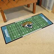 Jacksonville Jaguars Football Field Runner Rug