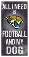 Jacksonville Jaguars Football & My Dog Sign