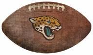 Jacksonville Jaguars Football Shaped Sign
