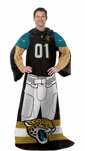 Jacksonville Jaguars Full Body Comfy Throw Blanket