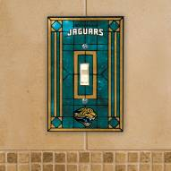 Jacksonville Jaguars Glass Single Light Switch Plate Cover
