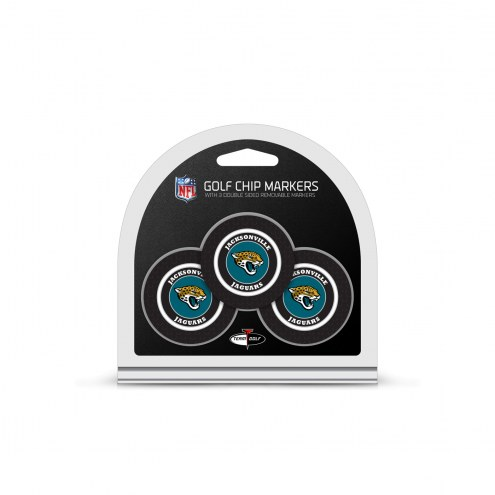 Jacksonville Jaguars Golf Chip Ball Markers