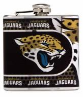 Jacksonville Jaguars Hi-Def Stainless Steel Flask