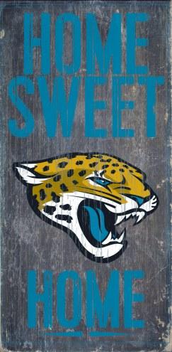 Jacksonville Jaguars Home Sweet Home Wood Sign