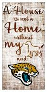 Jacksonville Jaguars House is Not a Home Sign