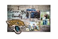 Jacksonville Jaguars I Love My Family Clip Frame