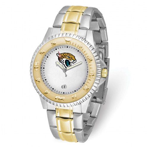 Jacksonville Jaguars Competitor Two-Tone Men's Watch