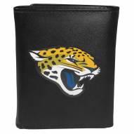 Jacksonville Jaguars Large Logo Leather Tri-fold Wallet