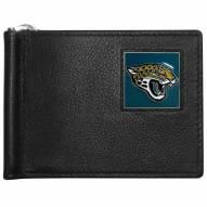 Jacksonville Jaguars Leather Bill Clip Wallet