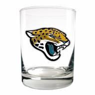 Jacksonville Jaguars Logo Rocks Glass - Set of 2