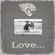 Jacksonville Jaguars Love Picture Frame