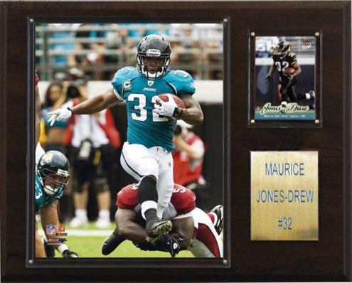 """Jacksonville Jaguars Maurice Jones-Drew 12 x 15"""" Player Plaque"""