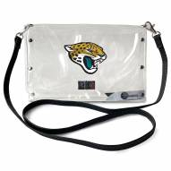 Jacksonville Jaguars Clear Envelope Purse