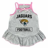 Jacksonville Jaguars NFL Gray Dog Dress